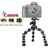 "Pro 13"" Heavy Duty Flexipod for Canon PowerShot pro1、pro70、pro90is , s5is、s60、sx1is , sx10is , sx20is、sx30is、sx40HS、sx50HS , sx60HS camerascamera、13インチtri-pod W /クイックリリース"