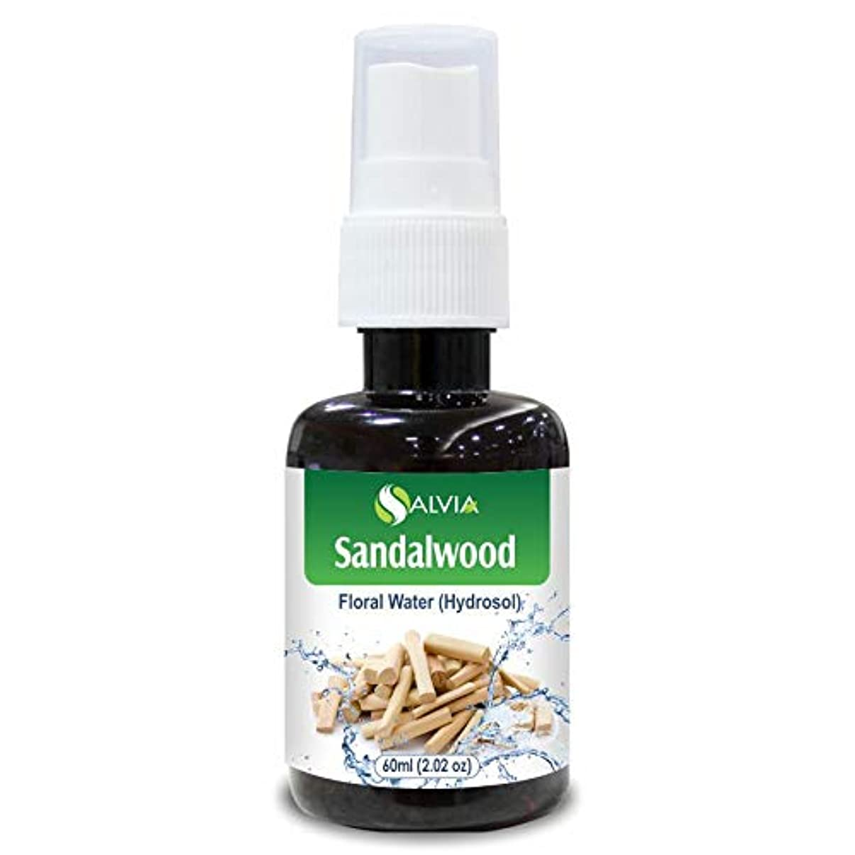 Sandalwood Floral Water 60ml (Hydrosol) 100% Pure And Natural