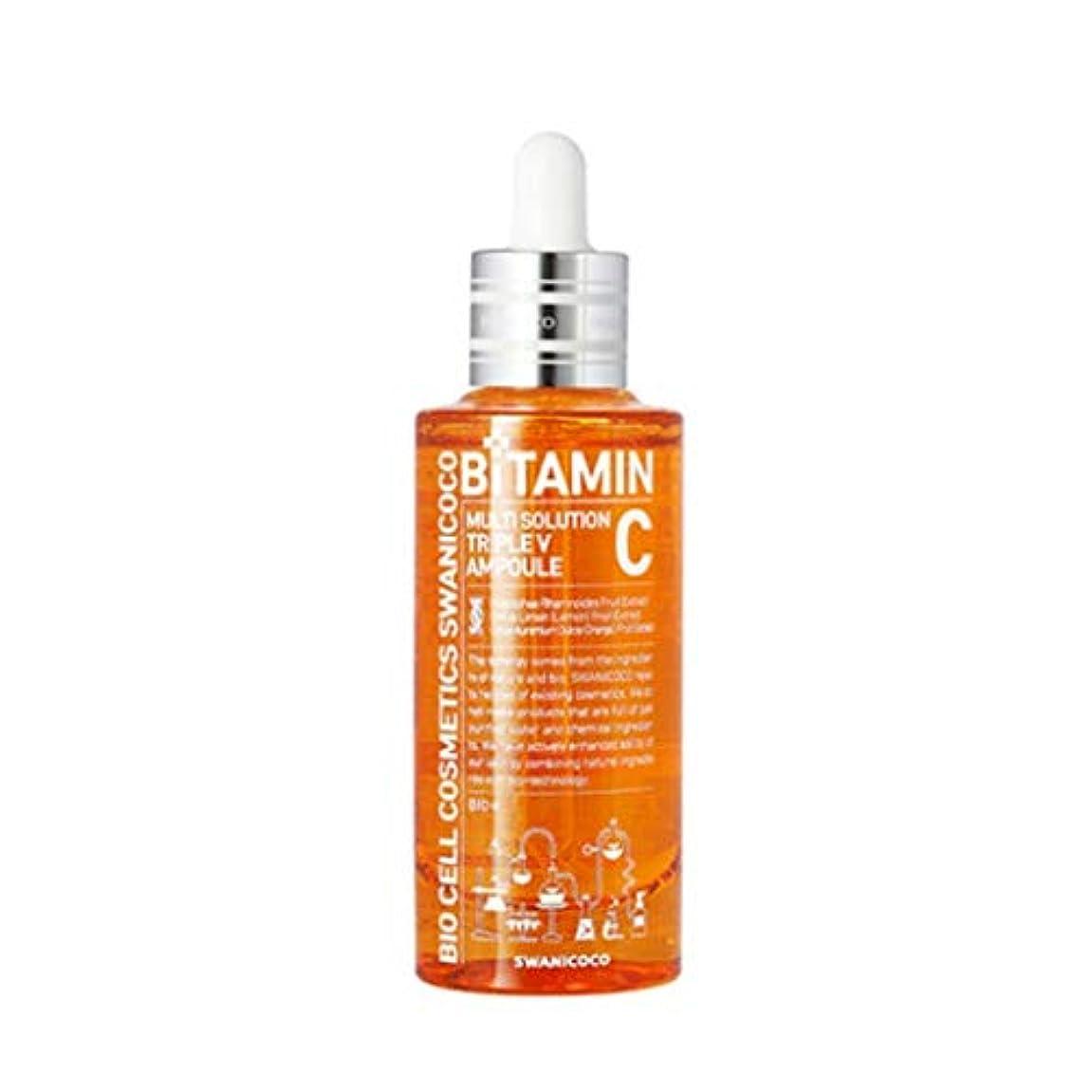 ギャラントリー礼儀プロフェッショナルスワニーココマルチソリューショントリプルVアンプル50ml韓国コスメ、Swanicoco Multi Solution Triple V Ampoule 50ml Korean Cosmetics [並行輸入品]