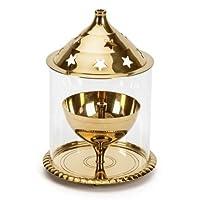 Borosil Akhand Diya (Large, Brass) by Borosil