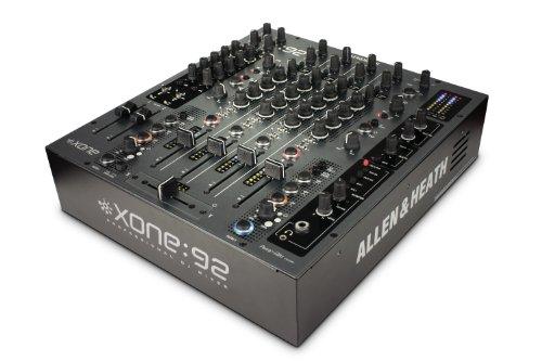 Allen & Heath XONE : 92L プロフェッショナル 6ch DJミキサー リニアフェーダーモデル