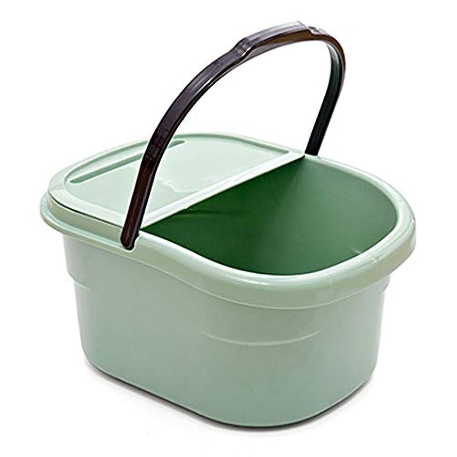 剃る管理準備ができてAkagi足湯バケツ フットバス フットマッサージャー 軽量収納便利 足の浴槽 家庭用 プレゼント どこでも足湯