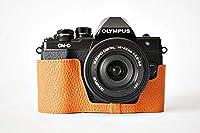 オリンパス EM10II 用本革カメラケース 各種カラー