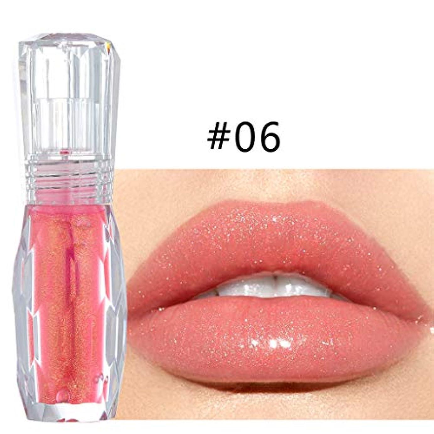 多分粒子第五ビューティー 口紅 Jopinica 6色ピンク系液体リップスティック 透明魅力液体リップグロス キラキラ落ちにくい口紅 安いメイクアップ ナチュラル美容化粧品 ハイライト プレイカラー うるおい 持ち運び便利 光沢 自然立体...