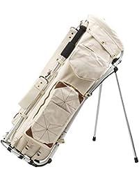 MIZUNO GOLF (ミズノゴルフ) キャディーバッグ フレームウォーカー 塁 キャディバッグ 5LJC191000 ホワイト(01)