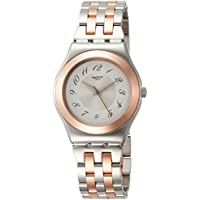 Swatch Irony Midimix White Dial Stainless Steel Unisex Watch YLS454G
