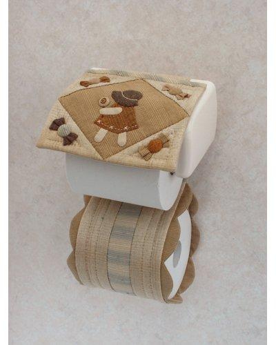 オリムパス製絲 パッチワークキット/ トイレットペーパーカバー PA534