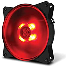 Cooler Master MasterFan MF120L Red LED PCケースファン  FN1161 R4-C1DS-12FR-R1