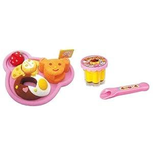 メルちゃんキッズプレート+おやつプリンセット