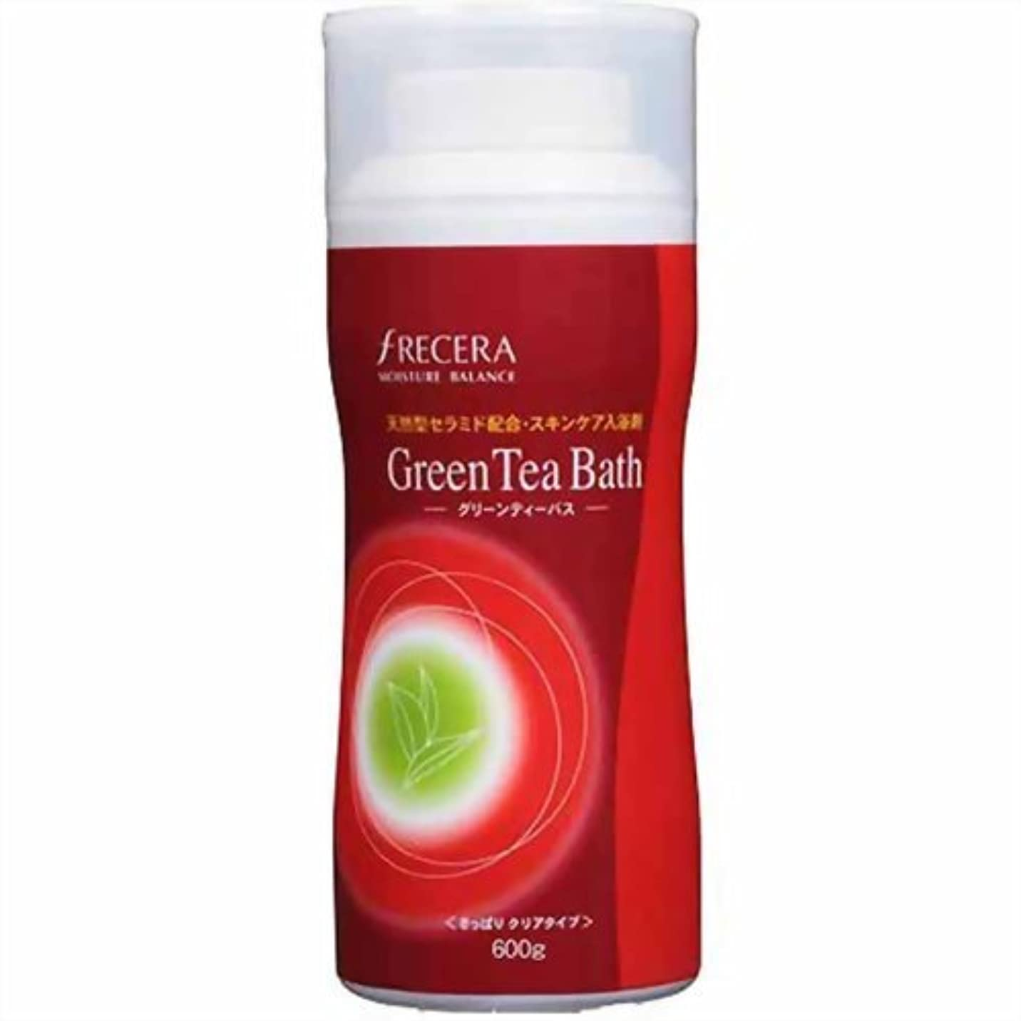 組立意味する定数フレッセラ セラミド入浴剤 グリーンティーバス 600g