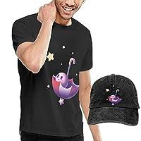 Tシャツ メンズ 半袖プリント カービィ 星のカービィシリーズ (8) おしゃれシンプル通勤 通学 運動 日常用 (カウボーイ帽を贈る!) 3XL