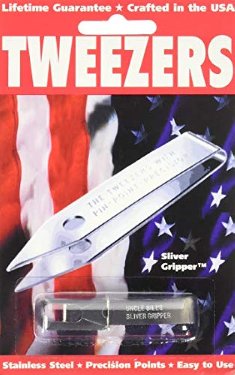 志すトークン透けるSliver Gripper Uncle Bill's Key Chain Tweezers by Sliver Gripper