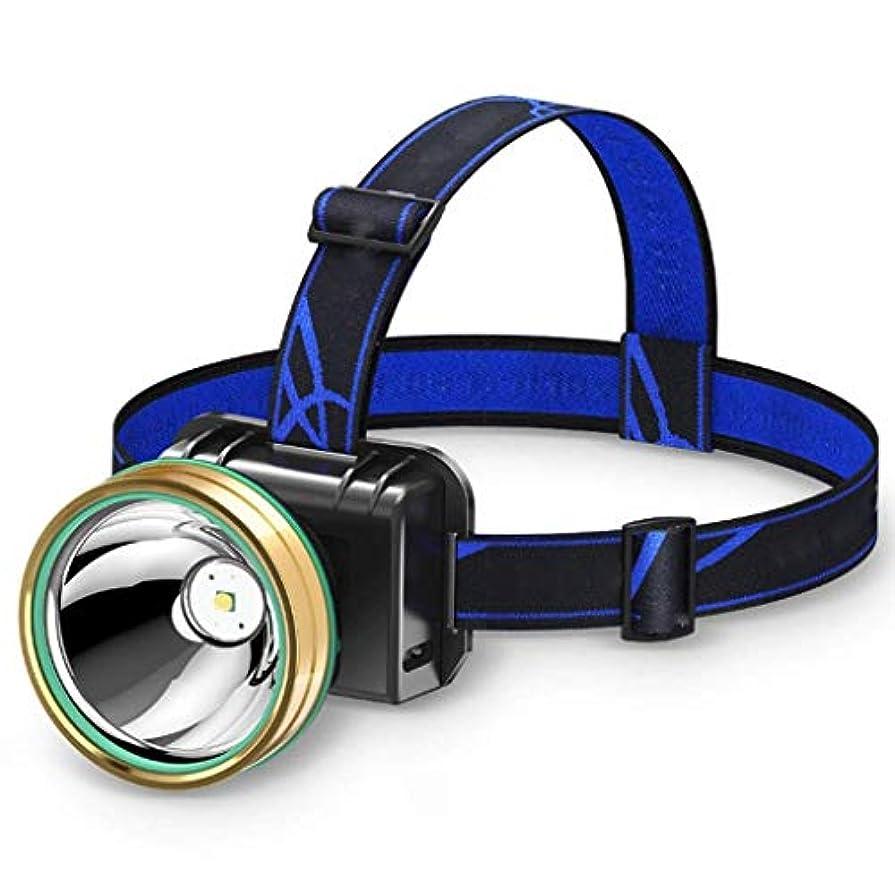 かんたん反発する壮大YDXYZ LEDヘッドトーチ、多機能ダブルランプヘッド登山釣り2シフト調光誘導スイッチ、防水、ランニング用、キャンプ、ハイキング&釣り、USBケーブルが含まれる