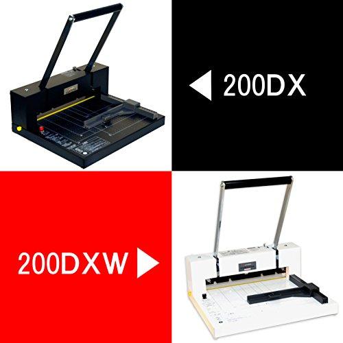 『DURODEX 自炊裁断機 ホワイト 200DXW』の5枚目の画像