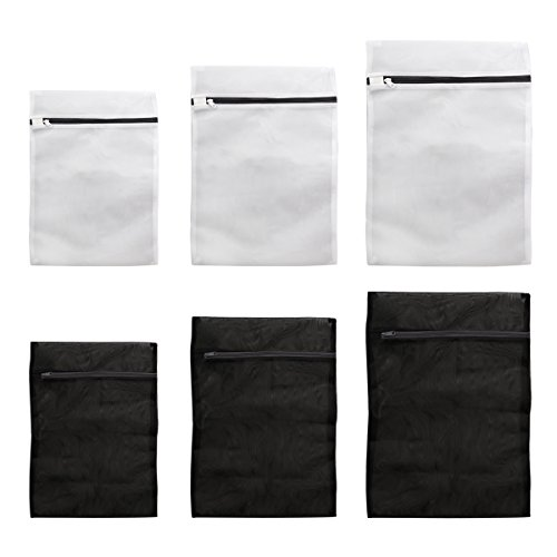[해외]WINOMO 세탁 네트 세탁 넷 각형 패킹 | 여행 등 최적 빨래 카라 미 | 부패 방지 60 x 50cm | 50 x 40cm | 40 x 30cm (6 개 세트)/WINOMO laundry net laundry net square type packing | travel etc optimum laundry licking | scratch prevention 6...