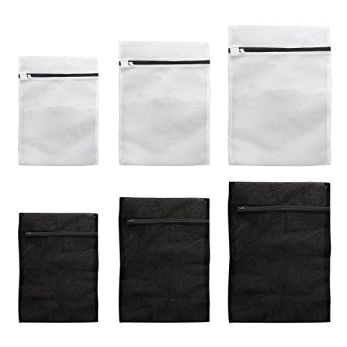 WINOMO 洗濯ネット ランドリーネット 角型 洗濯物カラミ/傷み防止 60 x 50cm/50 x 40cm/40 x 30cm(6枚セット)