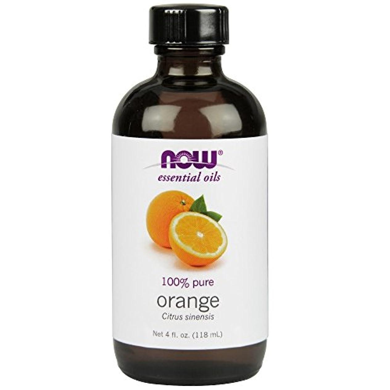 オーナメント棚畝間NOW Foods - オレンジオイル - 4ポンド
