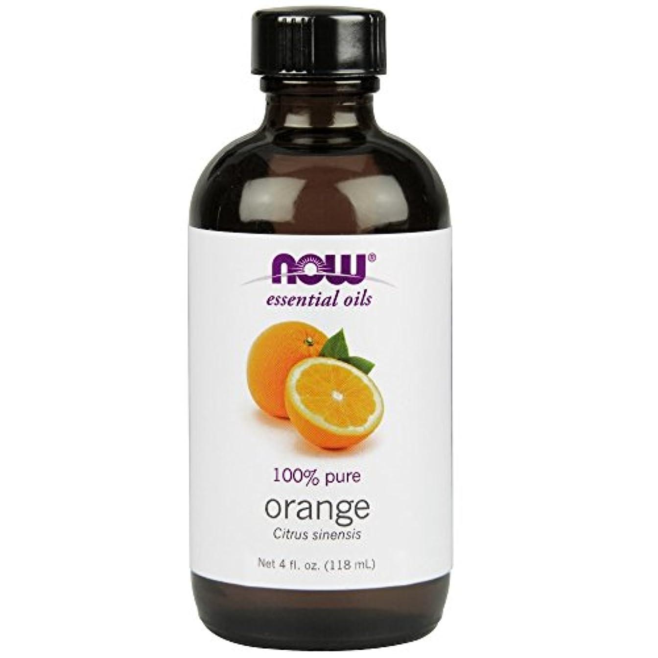 日付付き険しいバリアNOW Foods - オレンジオイル - 4ポンド