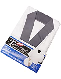 *Tシャツ半襦袢* 高級天竺綿使用 洗えるTシャツ半襦袢(肌襦袢)M/L/LLサイズ (ic) LLサイズ 【2】灰色