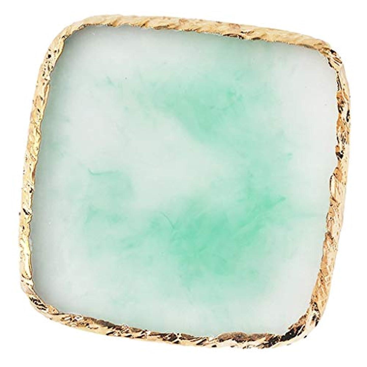 アピール破壊クーポンIPOTCH ネイルアート カラーブレンド ミキシングパレット 樹脂製 6色選べ - 緑
