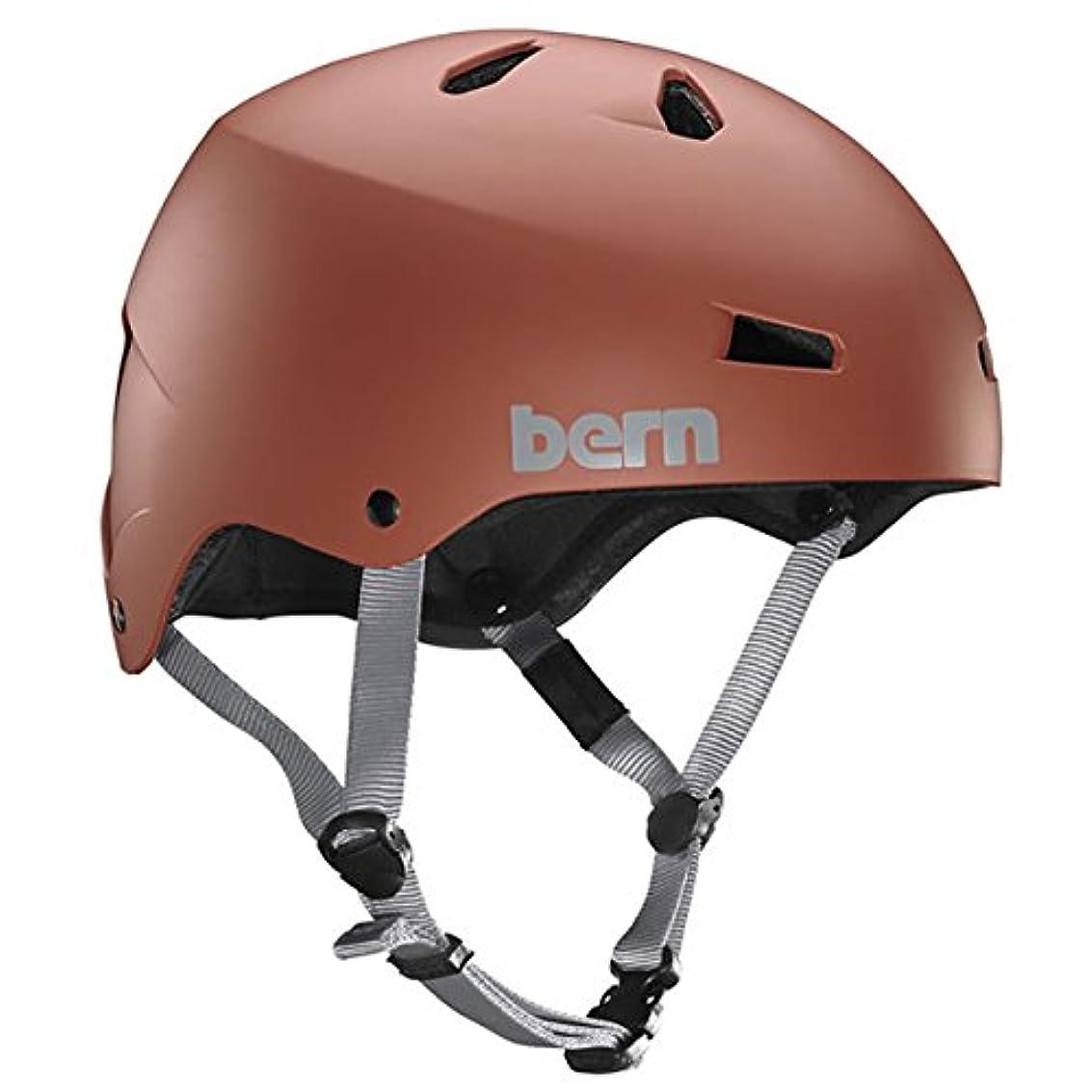 レビュアーメーカースクラッチ(バーン)Bern MACON Matte Oxblood BE-BM22BMOXB-02