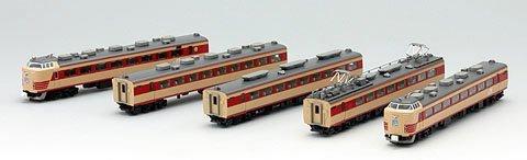 TOMIX Nゲージ 92334 485系特急電車 (雷鳥) 基本B 5両セット