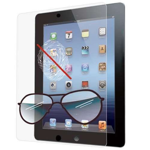 Ozaki IC807 iCoat Anti-Glare and Fingerprint+ Screen Protection for iPad 4/3 [並行輸入品]