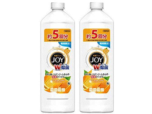 除菌ジョイコンパクト JOY オレンジピールの香り 詰め替え 770ml 特大 1個 食器用洗剤 P&G