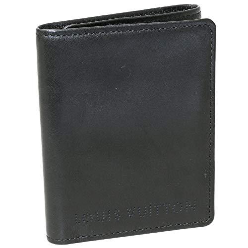 (ルイ・ヴィトン)LOUIS VUITTON 三つ折り財布 トリフォルド シカゴ 黒 M95787