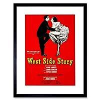 Theatre West Side Story Bernstein Sondheim Picture Framed Wall Art Print 劇場西画像壁