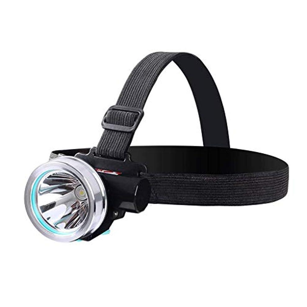 XIAOBUDIAN 軽量LED小型ヘッドライトグレア充電式ミニスーパーブライト防水屋外釣りヘッドマウント懐中電灯