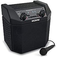 ION Audio Bluetooth対応スピーカー 低音強化機能搭載 50時間バッテリー スマホ充電可能 AM/FMラジオ マイク付き Tailgater Plus