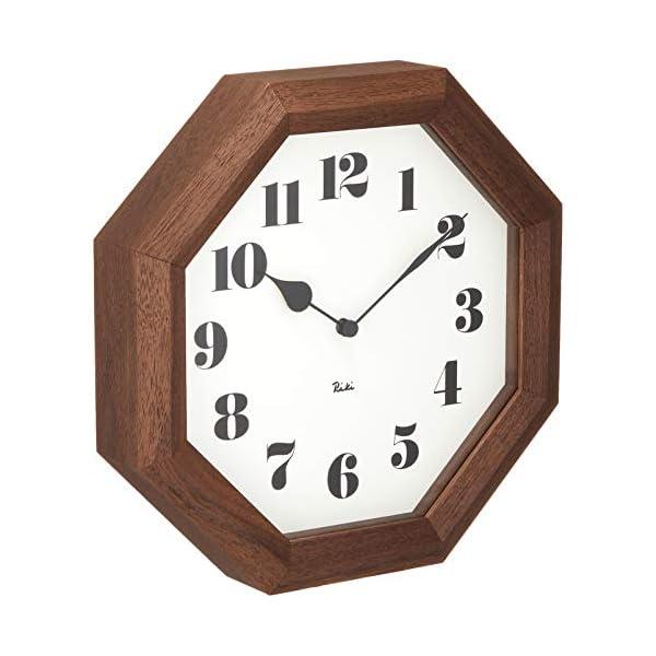 Lemnos (レムノス) 掛け時計 ブラウン...の紹介画像3