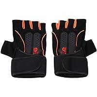 KLUMA 手袋 筋トレ 衝撃吸収 指切り 自転車手袋 ウェイトリフティング グローブ トレーニング ジム 滑り止め 耐磨耗性 換気性 全2カラー3サイズ