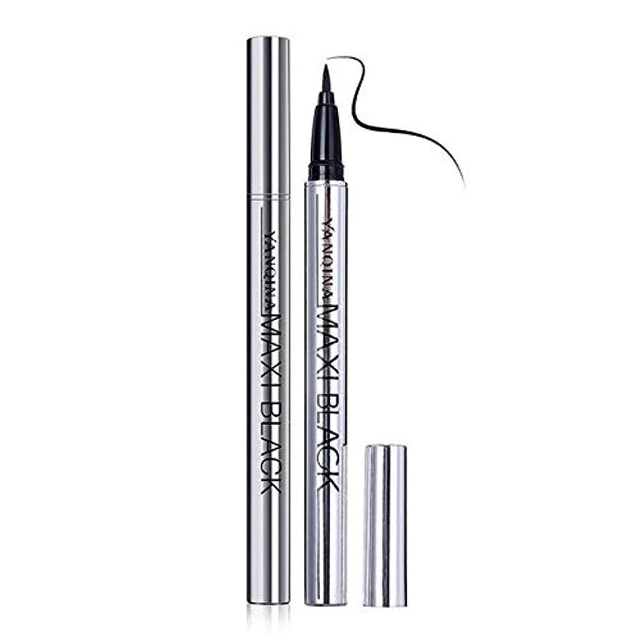 美容アクセサリー 新しいブラックリキッドアイライナーロングラスティング防水アイライナー 写真美容アクセサリー (色 : Black)