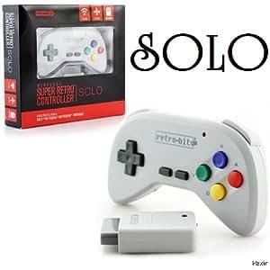 【MA-9520】SFC用ワイヤレスコントローラー / SNES retro-bit WIRELESS Super Retro Controller SOLO