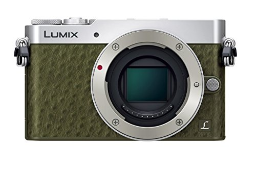 Panasonic ミラーレス一眼カメラ GM5 ボディ グリーン DMC-GM5-G
