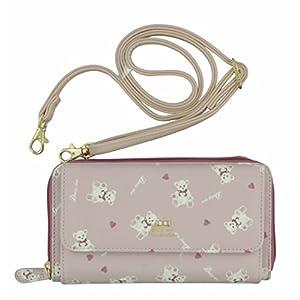 [アルディ] Daisy Rico DR6 ホワイトベアシリーズ お財布ポシェット DR6-23 DR6-23 Pink ピンク