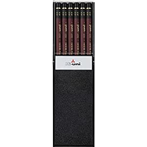 三菱鉛筆 鉛筆 ハイユニ 8B 1ダース HU8B