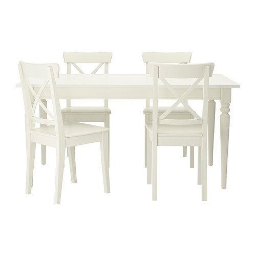 RoomClip商品情報 - IKEA(イケア) INGATORP INGOLF テーブル&チェア4脚 ホワイト