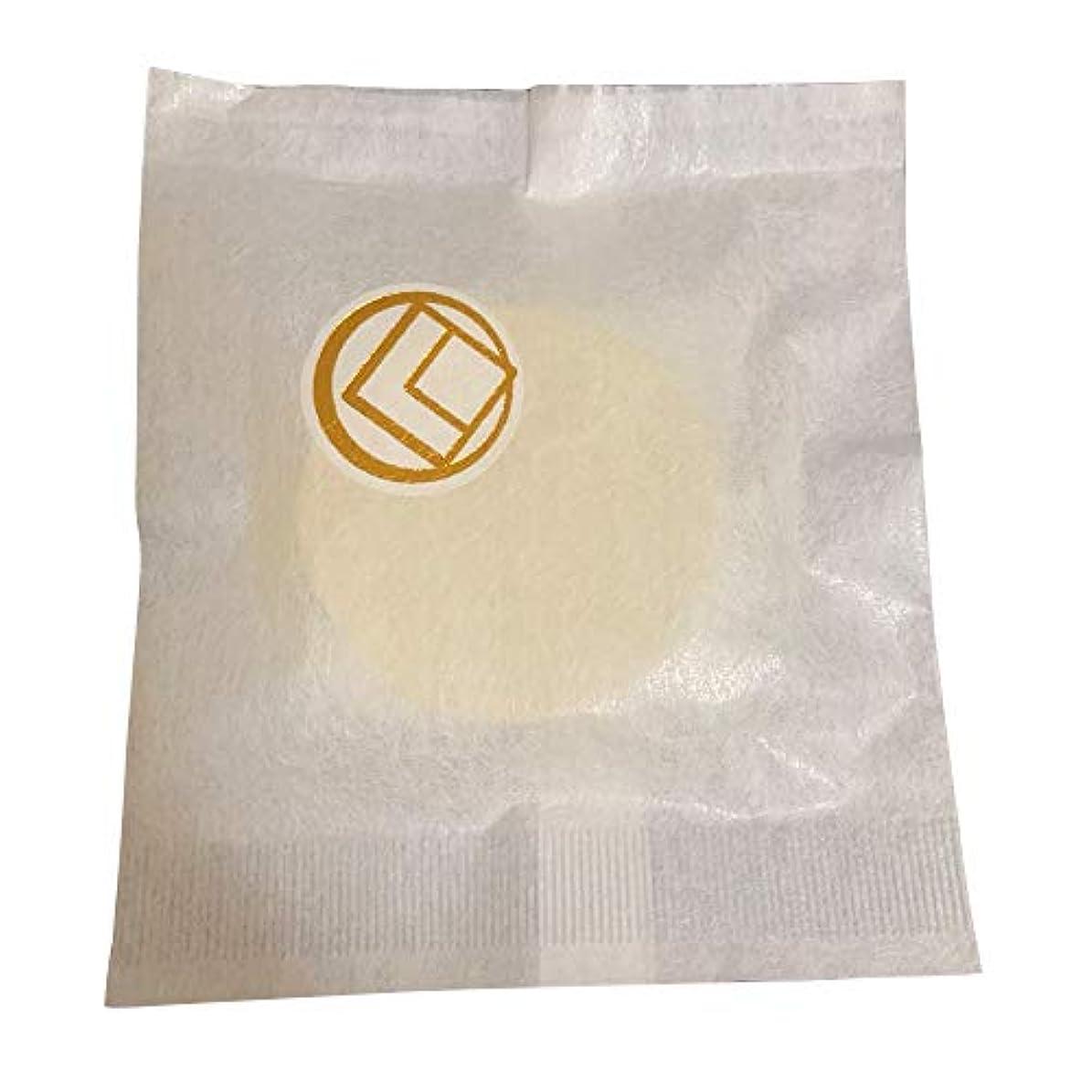 パドル代わりに実際に【肌断食専用】美塩(うつくしお)メイク落とし石鹸