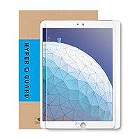 [HYPER GUARD] 【30days プレミアム保障】 iPad Air 3 ( 2019 ) iPad Pro 10.5 用 ブルーライトカット 92% 強化ガラスフィルム 極薄 0.33mm 日本製 硬度 9H ラウンドエッジ 気泡防止 気泡ゼロ 指紋防止 新型アイパッド 9.7インチ 9.7inch iPad9.7 保護フィルム 保護シート 液晶保護 タブレット 人気 17AC6-3-CLRvb v146