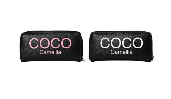 0bc41a9b20ee Amazon | COCO camellia ココカメリア ラウンド式長財布 27-CC-BKWH【M】 | COCO camellia | 財布