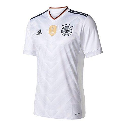 アディダス(adidas) ドイツ代表 サード レプリカユニフォーム半袖 BSK96 B47873 ホワイト/ブラック L