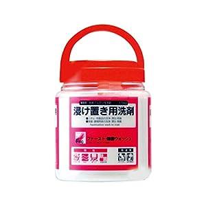 業務用 浸け置き用洗剤 ファースト・除菌ウォッシュ 1.5kg×12本入