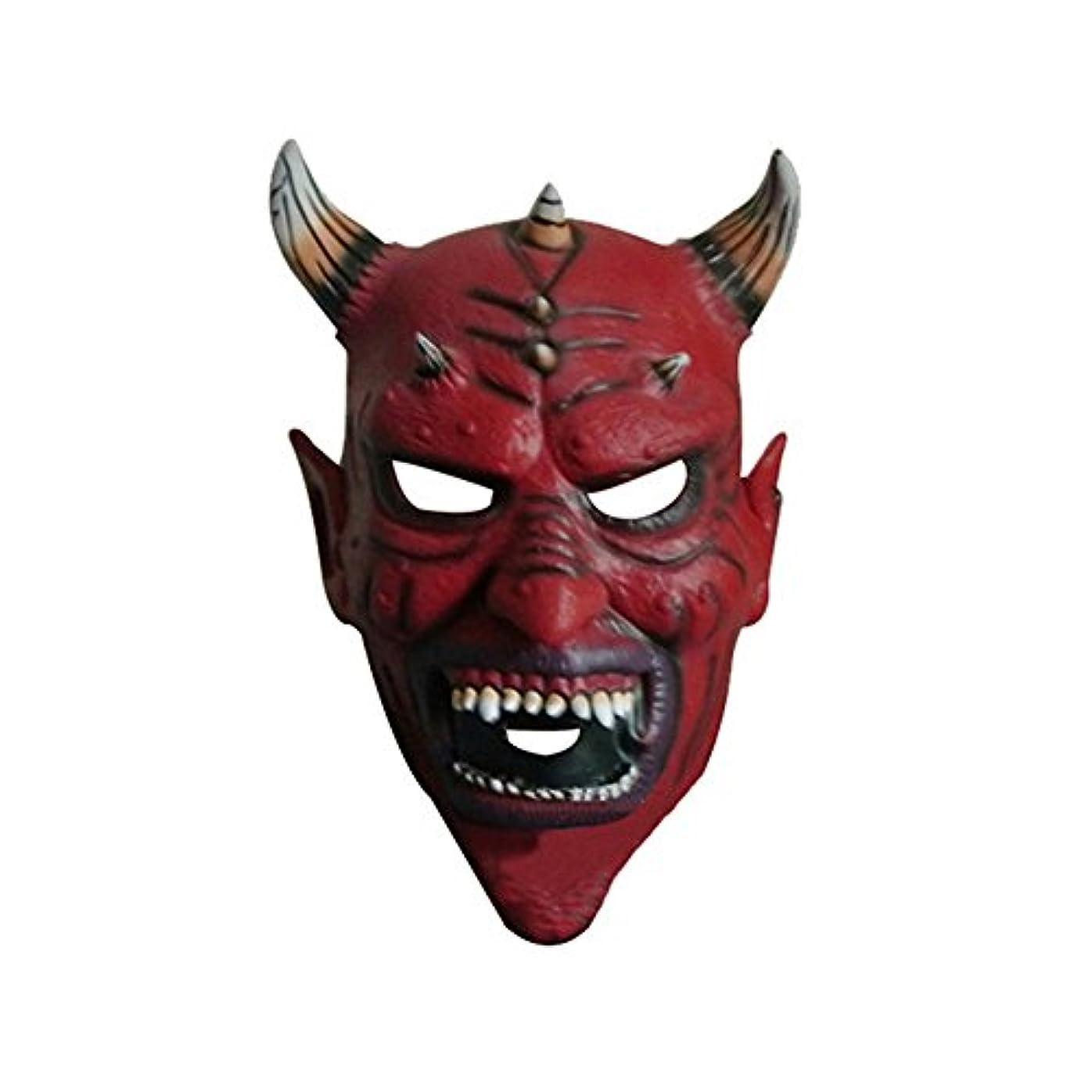 神社原始的なチラチラするハロウィーンデビルカーニバルナイトパーティーホーンヘッドマスク