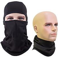 エジンド(Aegend) 改良版フェイスマスク 厚型 息苦しくない ネックウォーマー SWAT目だし帽 UVカット 防塵 保温 防寒 防風 アウトドアマスク サバゲー装備 防寒具合 一枚入り