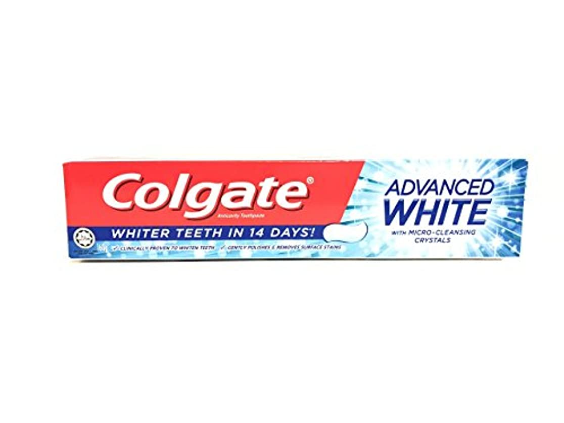 同盟湾正確さ[ARTASY WORKSHOP®][並行輸入品] Colgate コルゲート 歯磨き粉 美白 ADVANCED WHITE 美白歯磨剤 虫歯予防 歯周病ケア 口臭改善 ホワイトニング (ADVANCED WHITE)