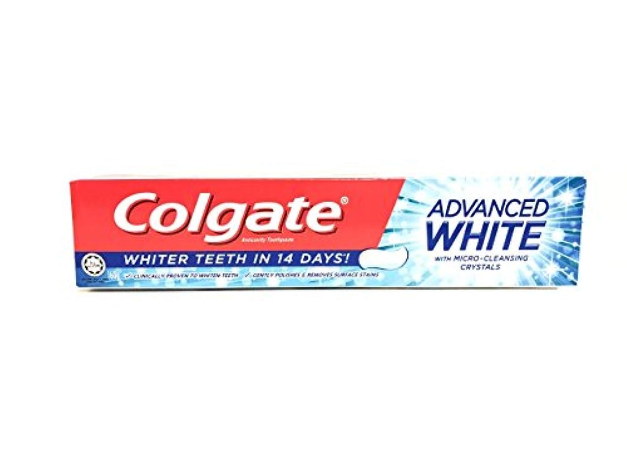 ブル年金受給者レスリング[ARTASY WORKSHOP®][並行輸入品] Colgate コルゲート 歯磨き粉 美白 ADVANCED WHITE 美白歯磨剤 虫歯予防 歯周病ケア 口臭改善 ホワイトニング (ADVANCED WHITE)