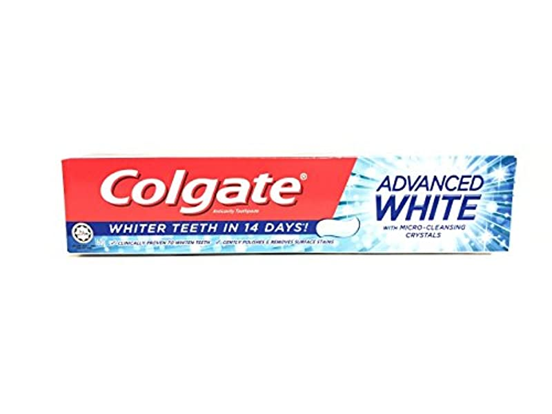 とティームシニスドループ[ARTASY WORKSHOP®][並行輸入品] Colgate コルゲート 歯磨き粉 美白 ADVANCED WHITE 美白歯磨剤 虫歯予防 歯周病ケア 口臭改善 ホワイトニング (ADVANCED WHITE)